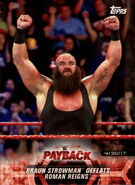 2018 WWE Road to Wrestlemania Trading Cards (Topps) Braun Strowman 36