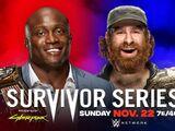 Survivor Series 2020 Bobby Lashley v Sami Zayn