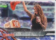 2017 WWE Road to WrestleMania Trading Cards (Topps) Lita 54