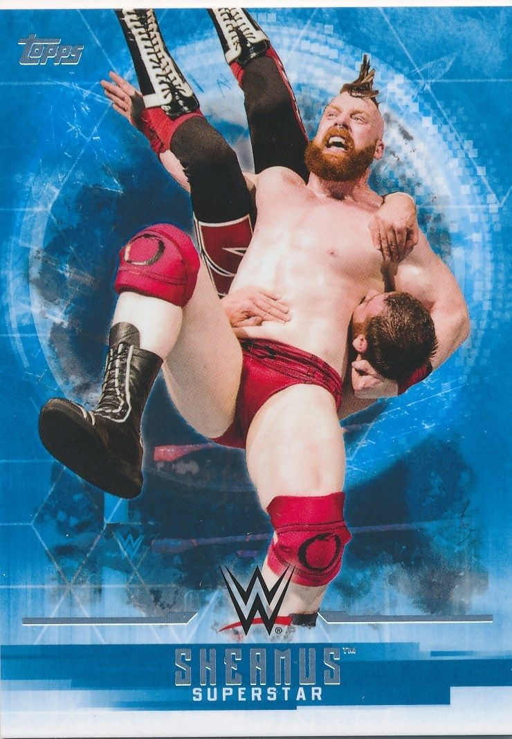 2017 WWE Undisputed Wrestling Cards (Topps) Sheamus (No.35)