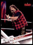 2017 WWE Wrestling Cards (Topps) Mick Foley 25