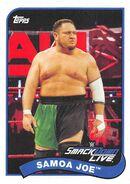2018 WWE Heritage Wrestling Cards (Topps) Samoa Joe 67