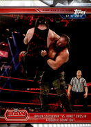 2019 WWE Road to WrestleMania Trading Cards (Topps) Braun Strowman 17