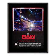 Bobby Lashley RAW New Orleans 10 x 13 Photo Plaque
