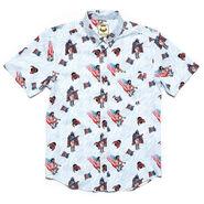 Macho Man Randy Savage USA RSVLTS Button Down Shirt