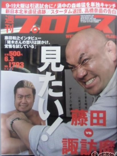 Weekly Pro Wrestling No. 1793