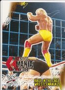 2001 WWF WrestleMania (Fleer) Rage In The Cage 83
