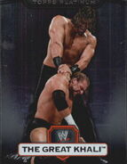 2010 WWE Platinum Trading Cards The Great Khali 26