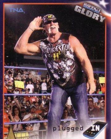 2013 TNA Impact Glory Wrestling Cards (Tristar) Hulk Hogan (No.39 ...