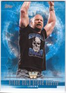 2017 WWE Undisputed Wrestling Cards (Topps) Stone Cold Steve Austin 69