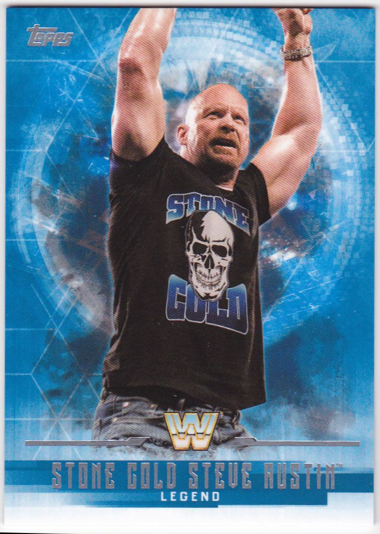 2017 WWE Undisputed Wrestling Cards (Topps) Stone Cold Steve Austin (No.69)