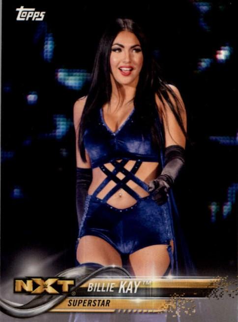 2018 WWE Wrestling Cards (Topps) Billie Kay (No.12)