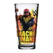 Macho Man 2018 Toon Tumbler Pint Glass