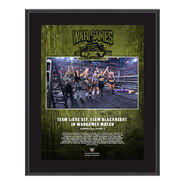 Team LeRae NXT TakeOver WarGames 2020 10x13 Commemorative Plaque