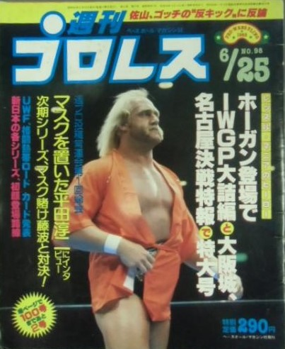 Weekly Pro Wrestling No. 98