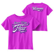 Charlotte Flair Born With Flair Toddler T-Shirt