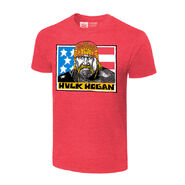 Hulk Hogan Real American Vintage T-Shirt