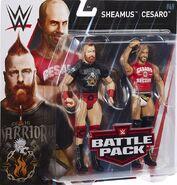 WWE Battle Packs 49 The Bar - Cesaro & Sheamus