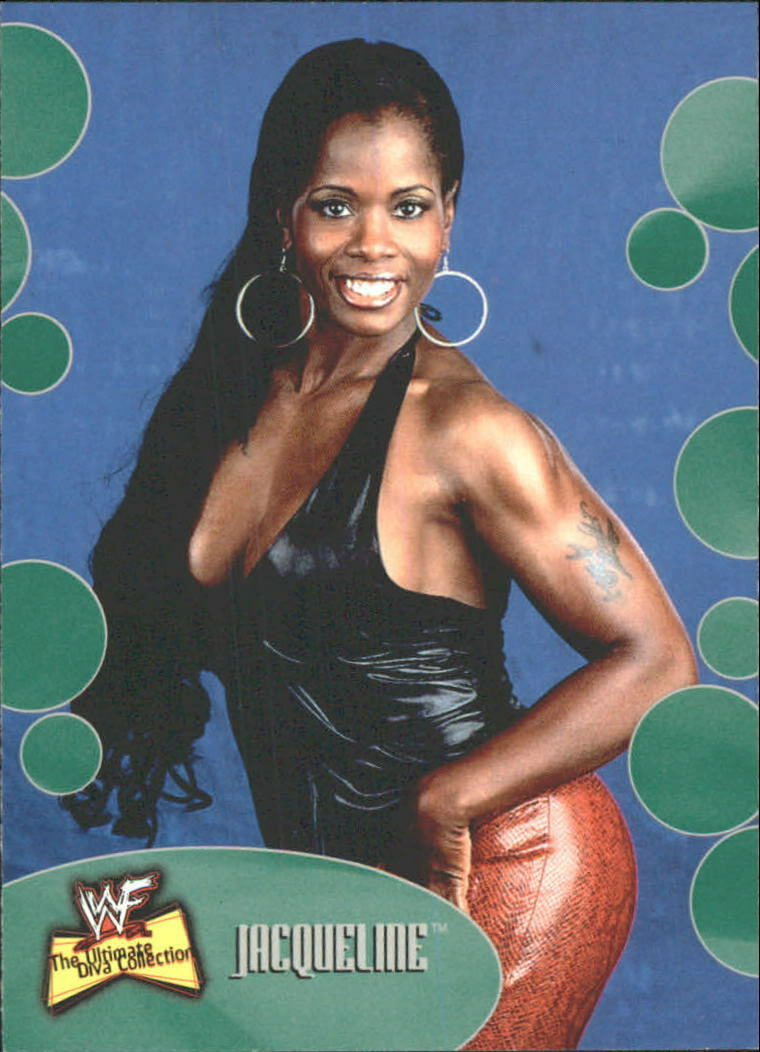 2001 WWF The Ultimate Diva Collection (Fleer) Jacqueline (No.18)