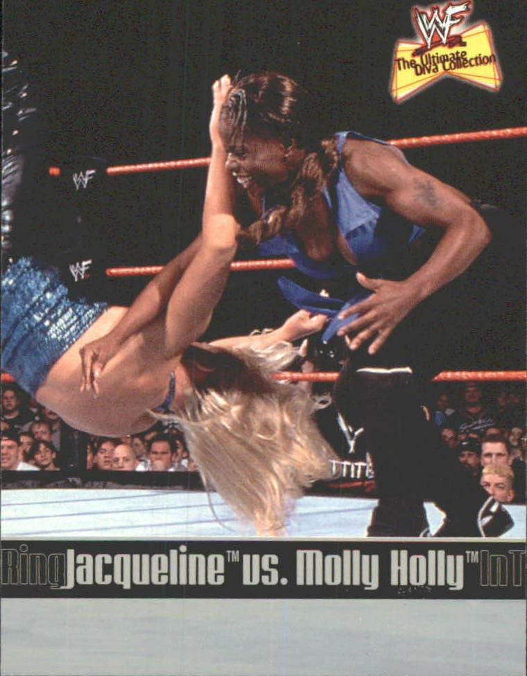 2001 WWF The Ultimate Diva Collection (Fleer) Jacqueline vs. Molly Holly (No.82)