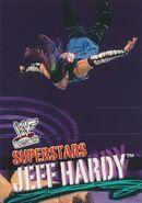 2001 WWF WrestleMania (Fleer) Jeff Hardy 7