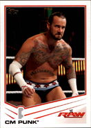 2013 WWE (Topps) CM Punk 8