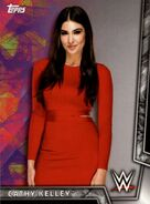 2018 WWE Women's Division (Topps) Cathy Kelley 8