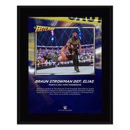 Braun Strowman Fastlane 2021 10 x 13 Commemorative Plaque
