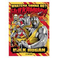 Hulk Hogan Hulkamania Phenom Gallery Limited Edition Serigraph Print