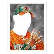 John Cena U Can't C Me 11 x 14 Rob Schamberger Art Print