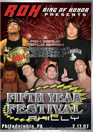 ROH Fifth Year Festival: Philly