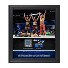 Riott Squad SmackDown Debut 15 x 17 Framed Plaque w Ring Canvas.jpg