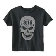 Stone Cold Steve Austin 3 16 Skull Toddler T-Shirt
