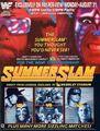 SummerSlam 1992 poster
