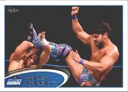 2012 WWE (Topps) Justin Gabriel 56