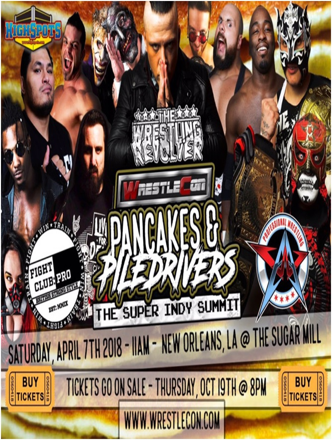 AAW-FCP-REVOLVER Pancakes & Piledrivers II: The Indy Summit