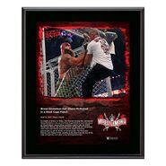 Braun Strowman WrestleMania 37 10x13 Commemorative Plaque