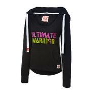 Ultimate Warrior Women's Tri-Blend Pullover Hoodie Sweatshirt