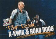 2001 WWF WrestleMania (Fleer) K-Kwik and Road Dogg 78