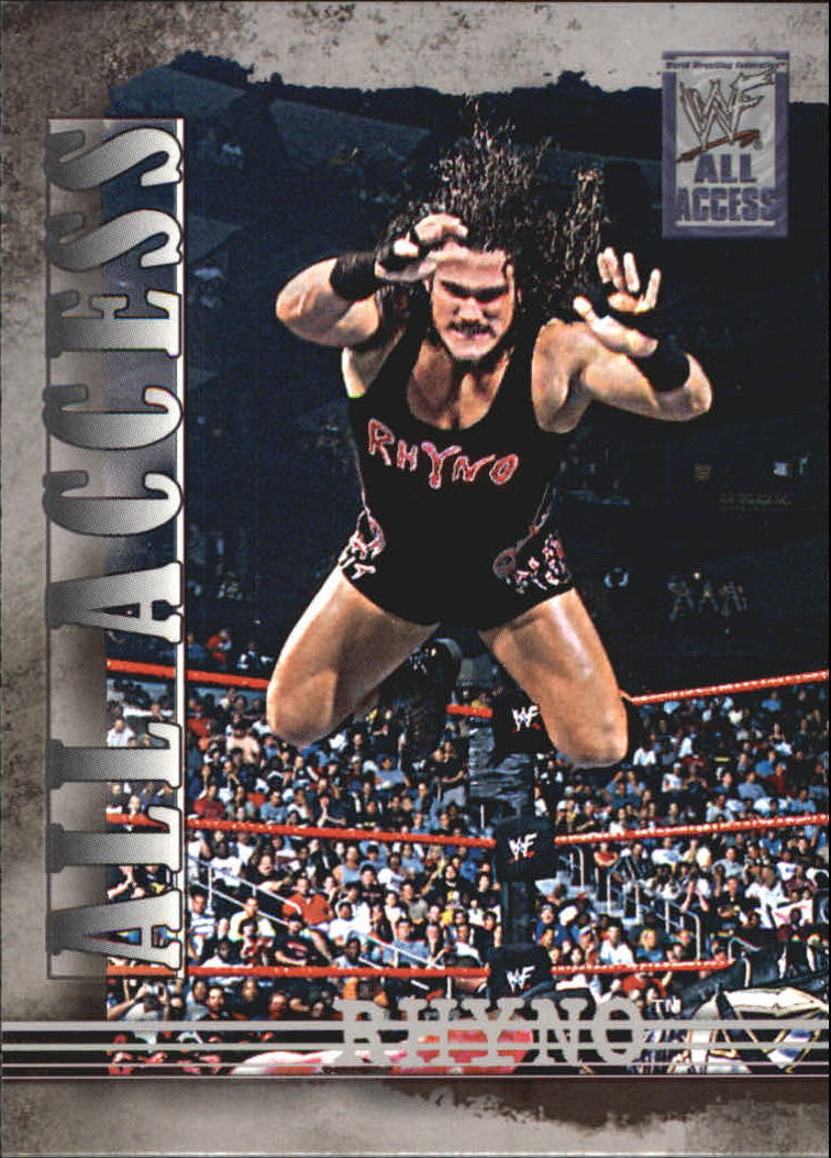 2002 WWF All Access (Fleer) Rhyno (No.20)