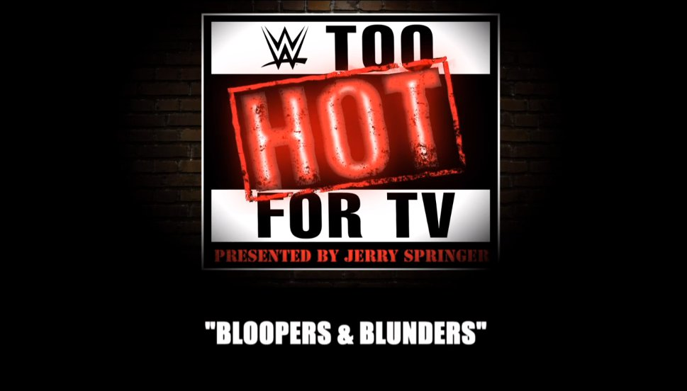 Bloopers And Blunders