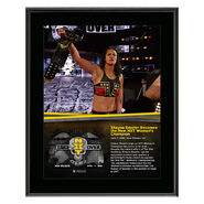 Shayna Baszler NXT TakeOver New Orleans 10 x 13 Photo Plaque