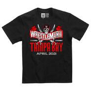 WrestleMania 37 Logo Youth T-Shirt