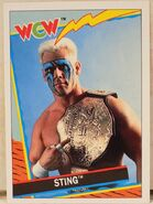 1992 WCW Trading Cards (Topps) Sting 2