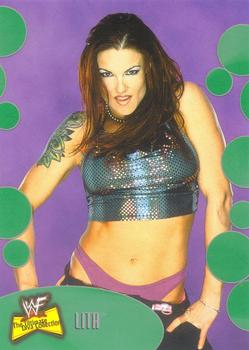 2001 WWF The Ultimate Diva Collection (Fleer) Lita (No.54)
