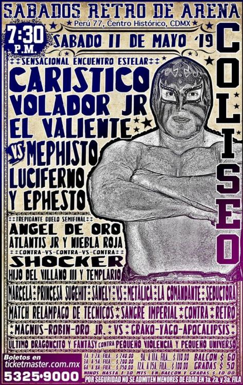 CMLL Sabados De Coliseo (May 11, 2019)