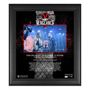 Finn Bálor NXT TakeOver Vengeance Day 15x17 Commemorative Plaque