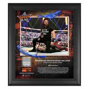 Roman Reigns SummerSlam 2020 15x17 Commemorative Plaque