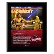 WrestleMania 36 Otis 10 x 13 Limited Edition Plaque