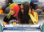 2019 WWE Women's Division (Topps) Asuka 83